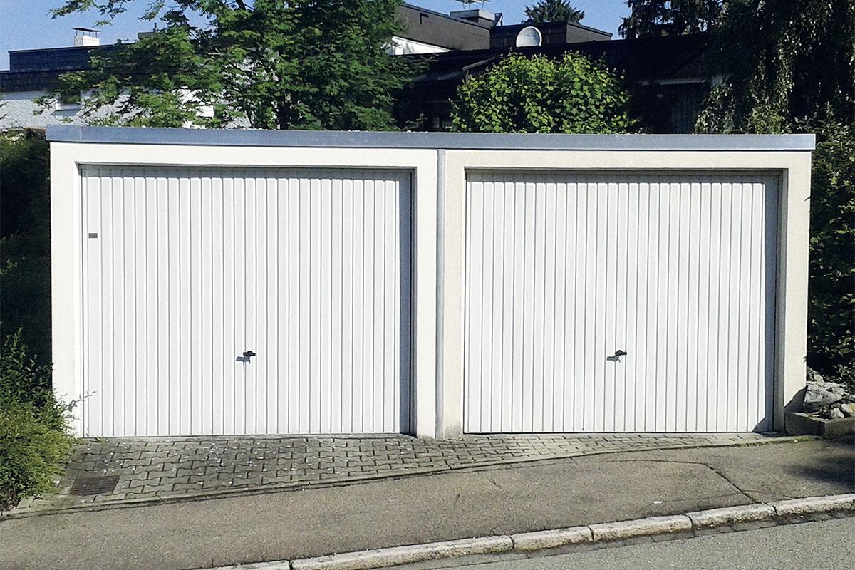Flachdachsanierung Garage